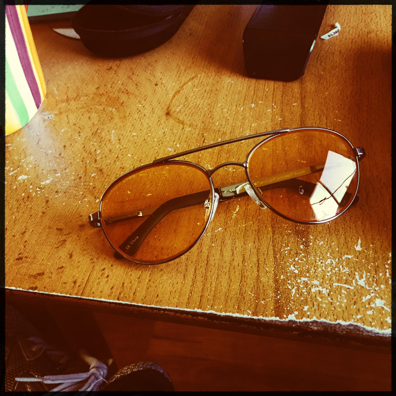 A través de los lentes